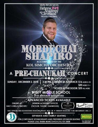 Pre Chanukah Concert