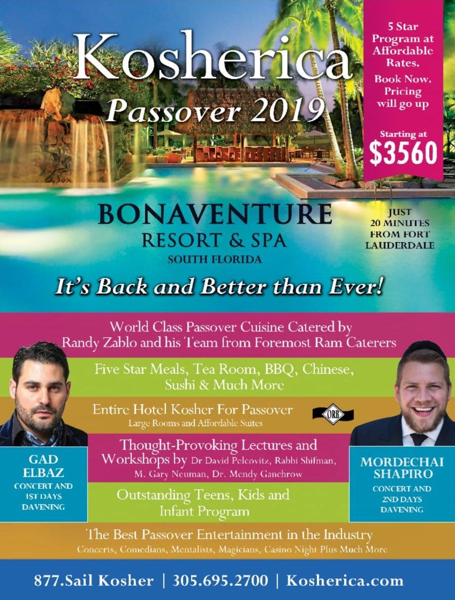 Mordechai Shapiro Kosherica Passover 2019